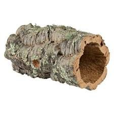 Jurassic Reptile Products Cork Bark Tube Sized
