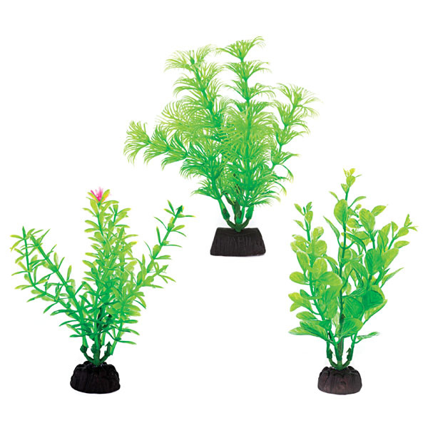 "Penn-Plax Penn-Plax Aqua-Plants 4"" Plants (6-Pack)"