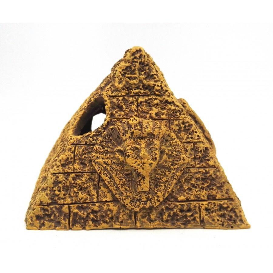 """Burgham Aqua-Fit Aqua-Fit Gravel Egyptian Pyramid 5x5x4"""""""