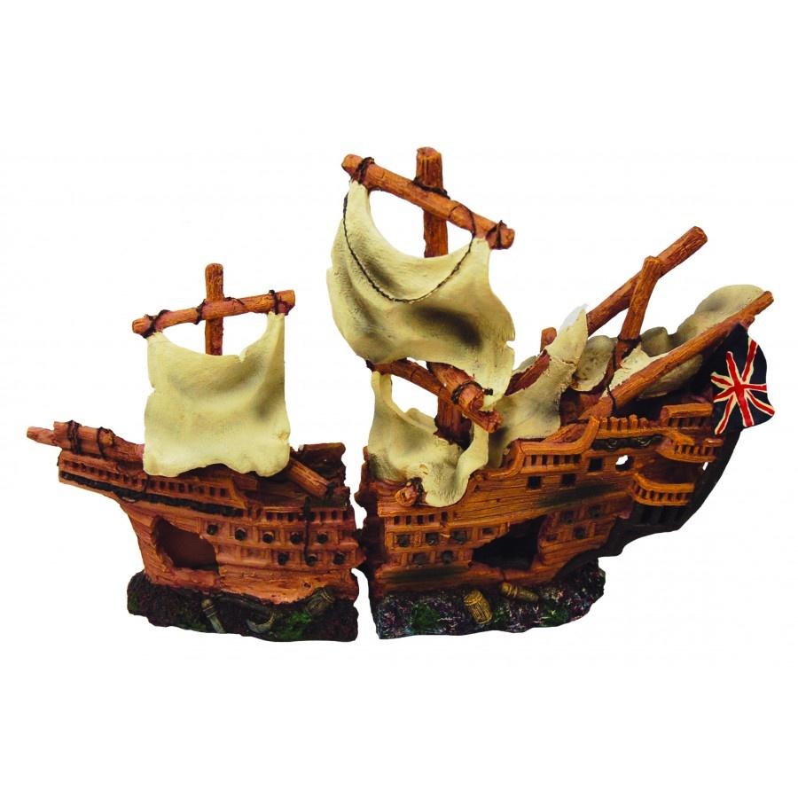 Burgham Aqua-Fit Aqua-Fit Polyresin British Shipwreck