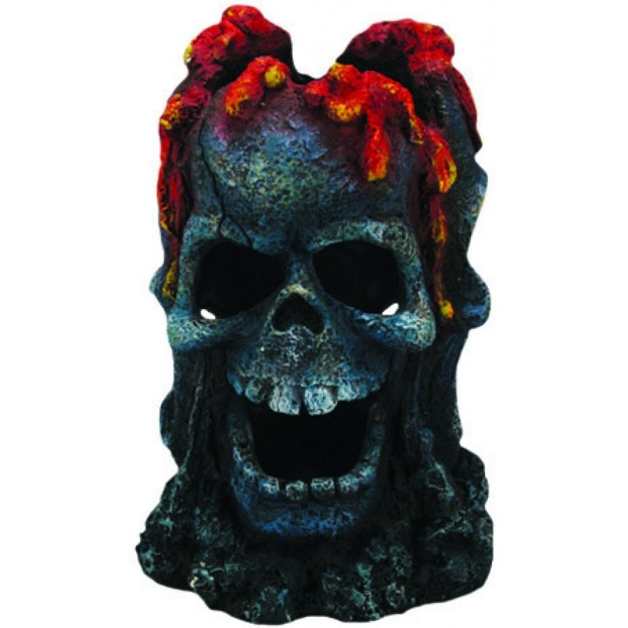 """Aqua-Fit Aqua-Fit Skull Volcano 5x5x7.5"""""""
