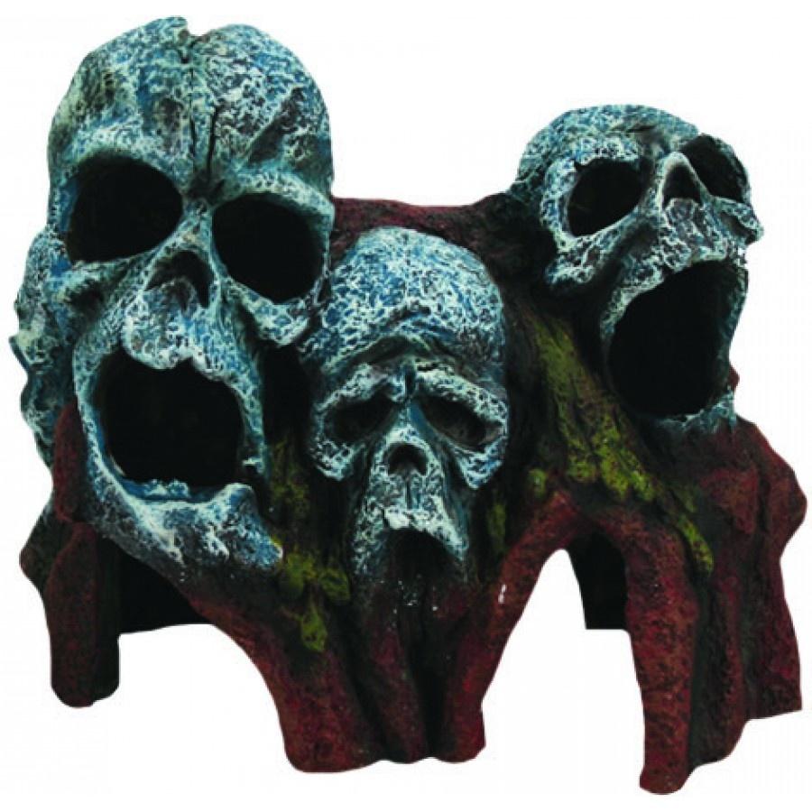 """Burgham Aqua-Fit Aqua-Fit Tree Root Skulls 7x4x6"""""""