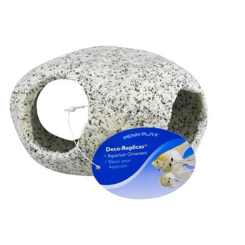 "Penn-Plax Penn-Plax Round Stone Hideaway - Large 4"""