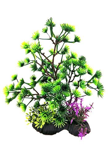 "Penn-Plax Penn-Plax Aqua-Plant Bonsai Green 7-8"""