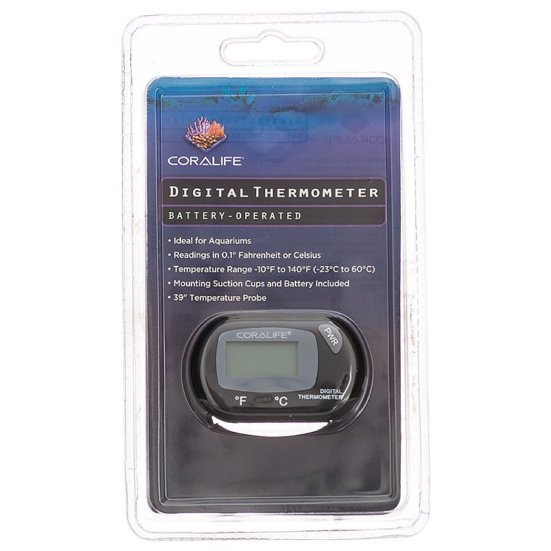 Coralife Battery Operated Digital Thermometer