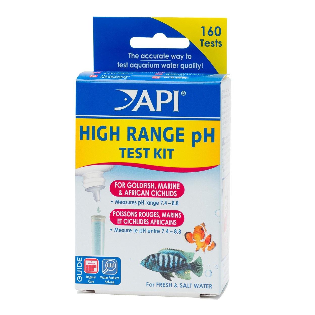 API Products API High Range pH Liquid Test Kit