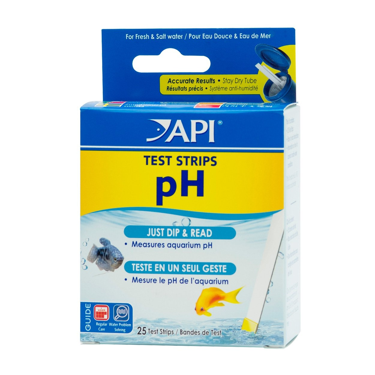 API Products API pH Test Strips (25-Pack)