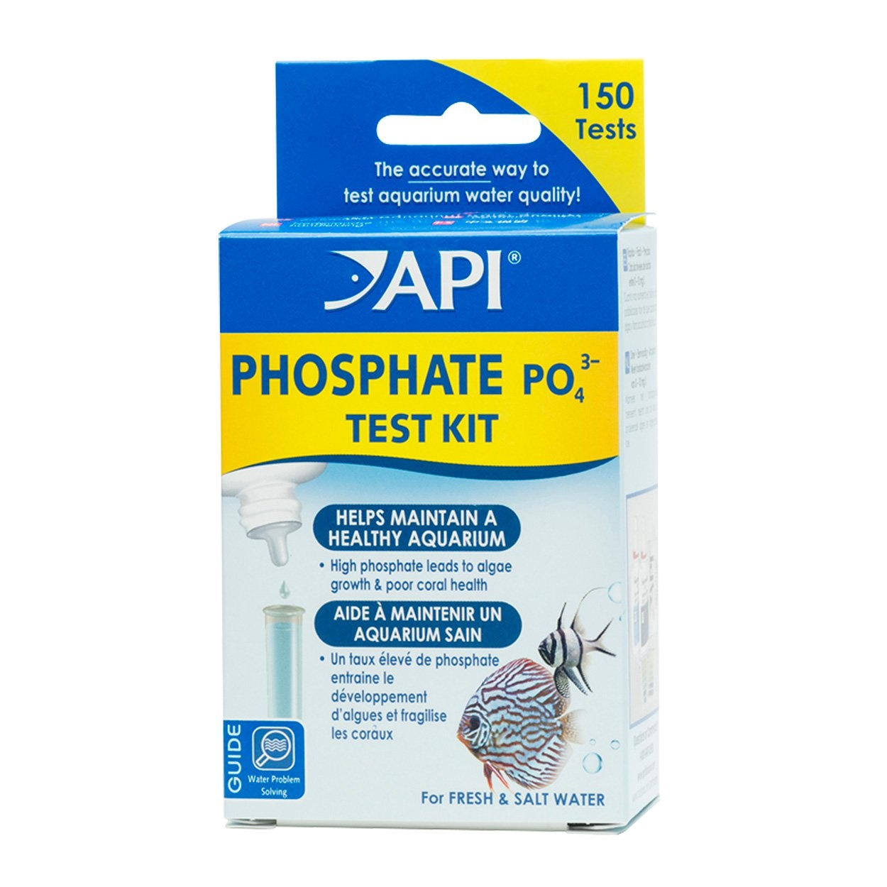 API Products API Phosphate PO4 3- Liquid Test Kit