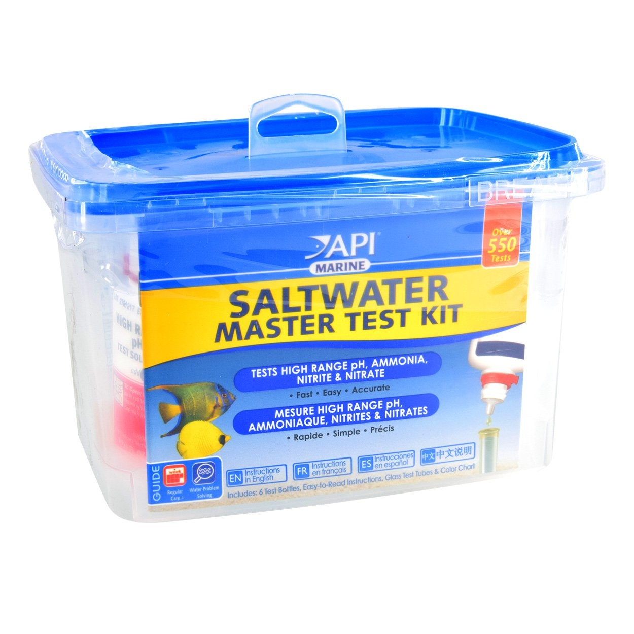 API Products API Saltwater Master Test Kit