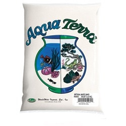 World Wide Products Aqua Terra Natural White Sand 5lb