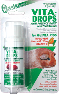 Oasis Products OASIS Guinea Pig Vita Drop Vitamins 2 oz