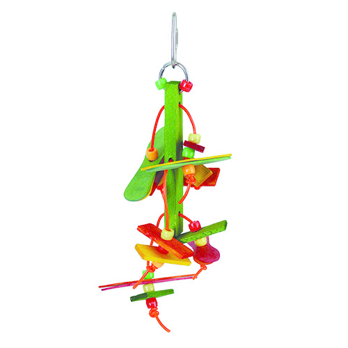 "Feather Land Feather Land Popsicle Hang Down 6"" x 2"""