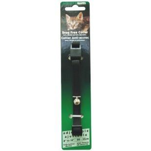 Burgham Cat Nylon Burgham Snag Free Breakaway Collar