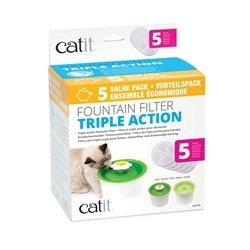 CatIt CatIt Fountain Filter Triple Action - 5 Pack