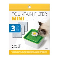 CatIt Catit Mini Fountain Filters - 3 Pack
