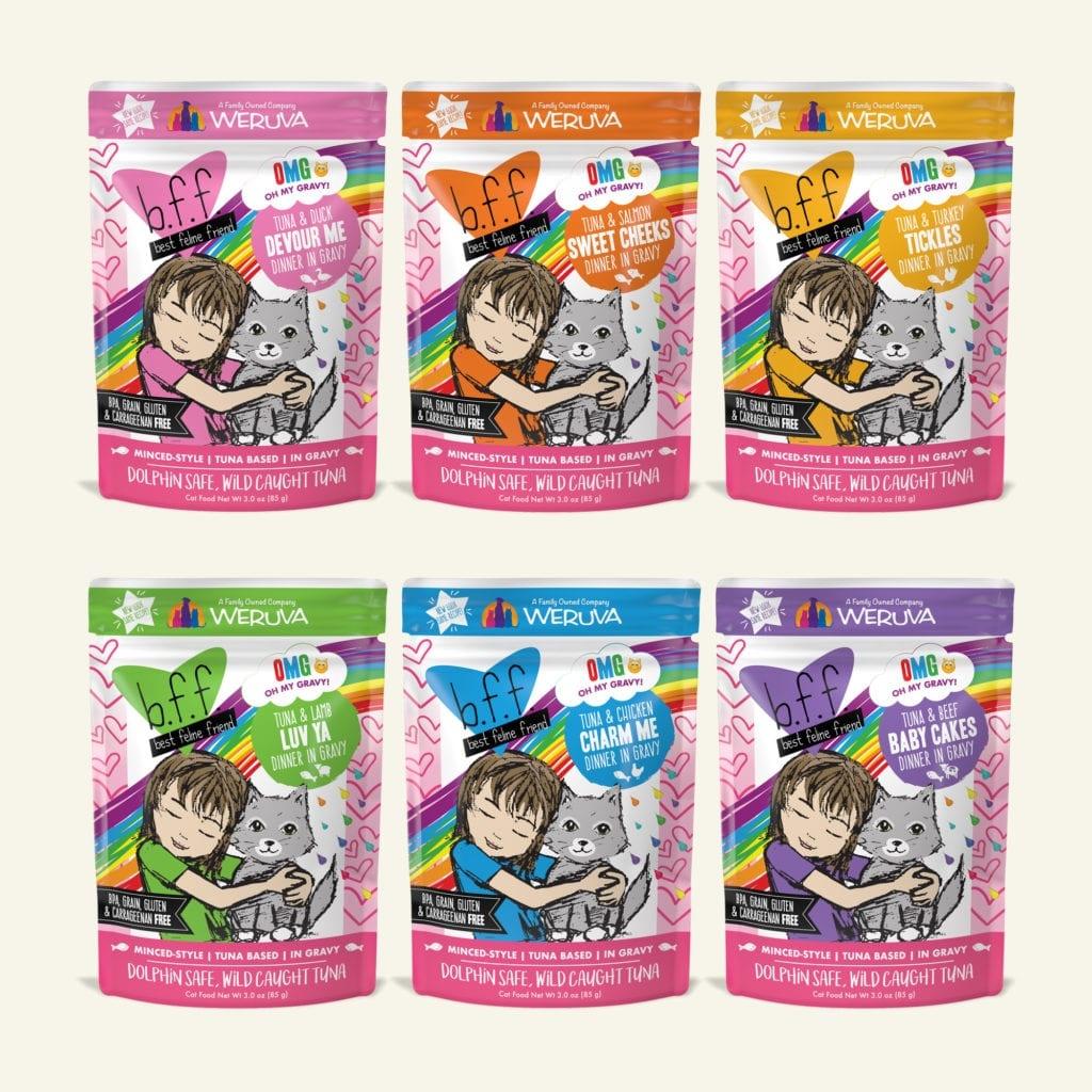 WeRuVa BFF Variety Pack Pouches Rainbow Á Gogo (12 Pack)