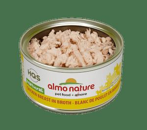 Almo Nature Almo Nature HSQ Natural Chicken Breast In Broth 70 g