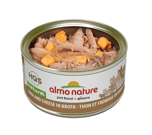 Almo Nature Almo Nature HQS Natural Tuna with Cheese In Broth 70 g