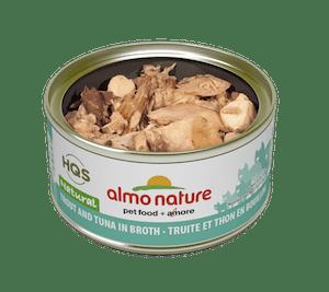 Almo Nature Almo Nature HQS Natural Trout & Tuna In Broth 70 g