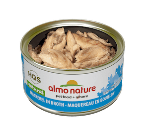 Almo Nature Almo Nature HQS Natural Mackerel In Broth 70 g