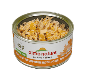 Almo Nature Almo Nature HQS Natural Chicken & Pumpkin In Broth