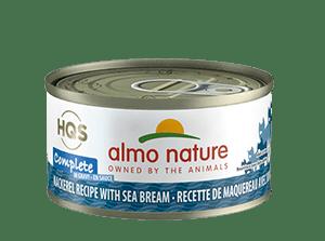 Almo Nature Almo Nature HQS Complete Mackerel With Sea Bream 70 g