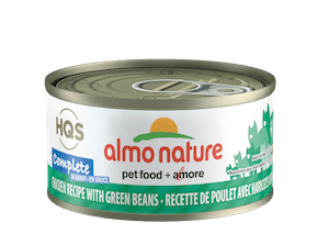 Almo Nature Almo Nature HQS Complete Chicken With Green Beans In Gravy 70 g