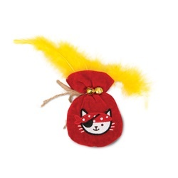 Cat It Catit Play Pirates Toy Pouch Of Gold