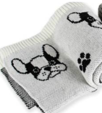 """Be One Breed Be One Breed Blanket Frenchie 30"""" x 40"""""""