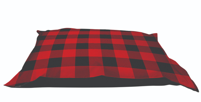 Be One Breed Be One Breed Cloud Pillow Bed Buffalo Plaid