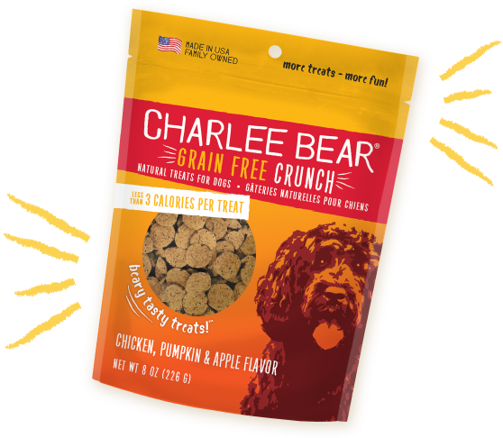 Charlee Bear Treats Charlee Bear Crunch Chicken, Pumpkin & Apple 8 oz