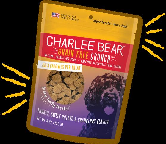Charlee Bear Treats Charlee Bear Crunch Turkey Sweet Potato & Cranberry 8 oz