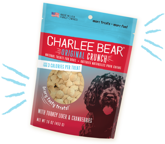 Charlee Bear Treats Charlee Bear Turkey Liver & Cranberry 16 oz