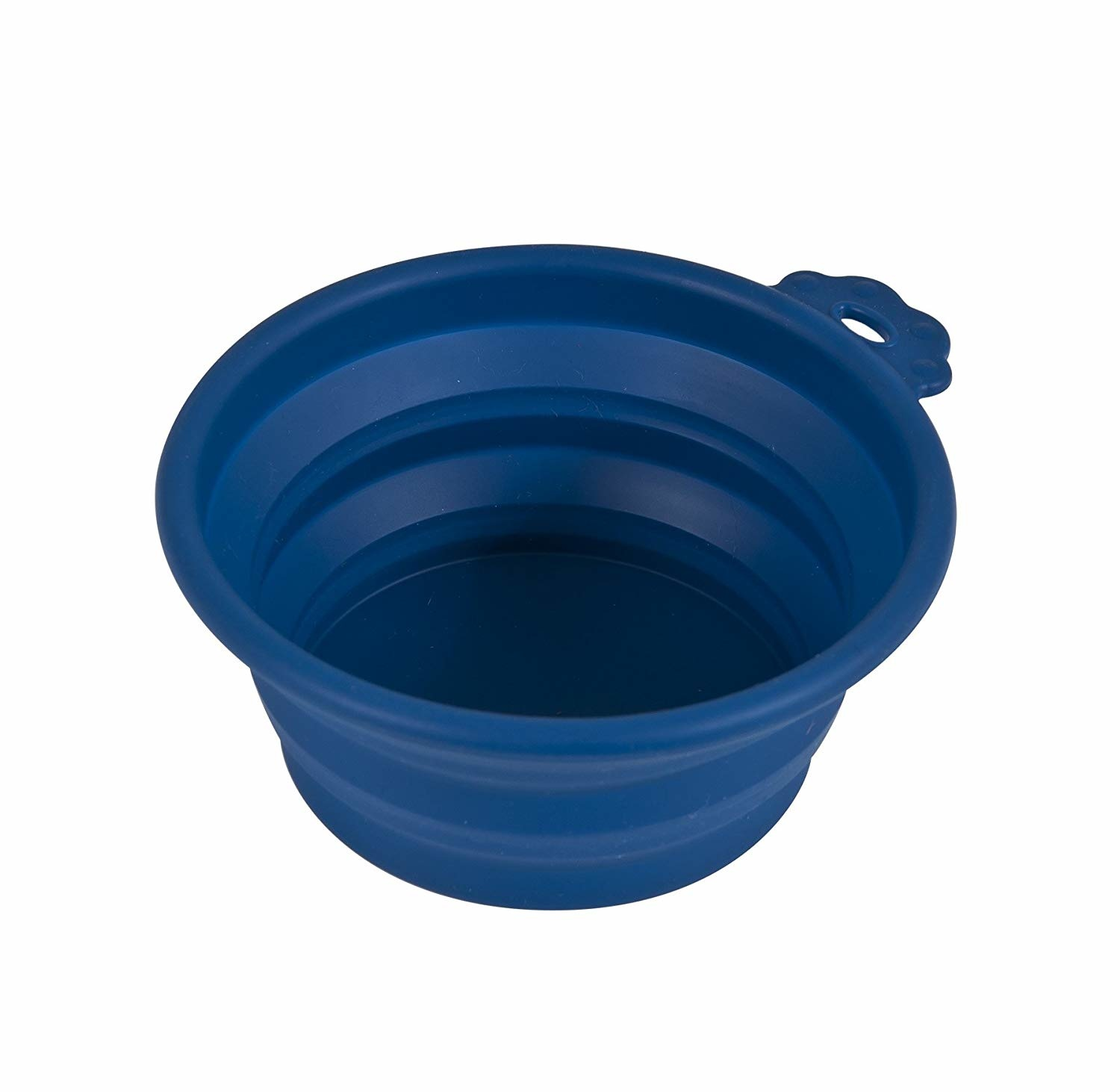 Petmate Petmate Silicone Travel Bowl Blue 1.5 cup