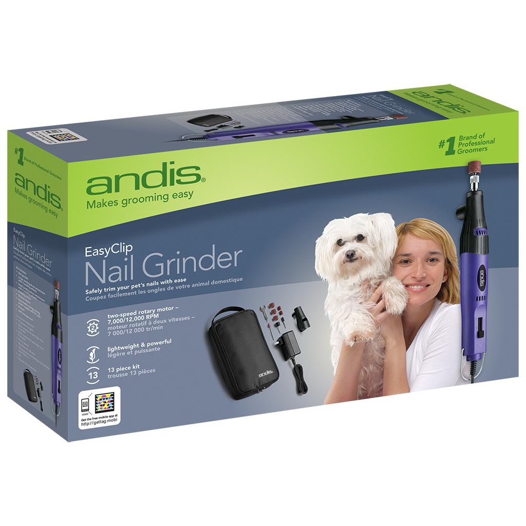 Andis ANDIS Nail Grinder 13pc Kit- 2 speed