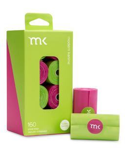 Modern Pet Brands Modern Kanine Poop Bags Green & Pink