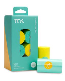 Modern Pet Brands Modern Kanine Poop Bags Turquoise & Yellow