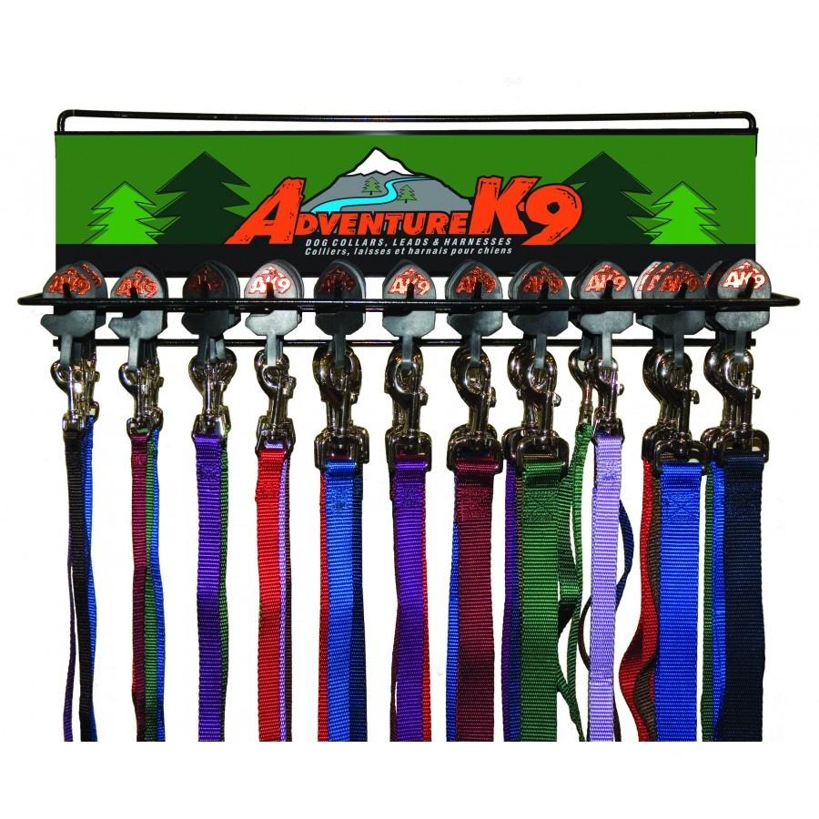 """Burgham AK-9 Nylon AK-9 Nylon Lead 3/8"""" x 4'"""