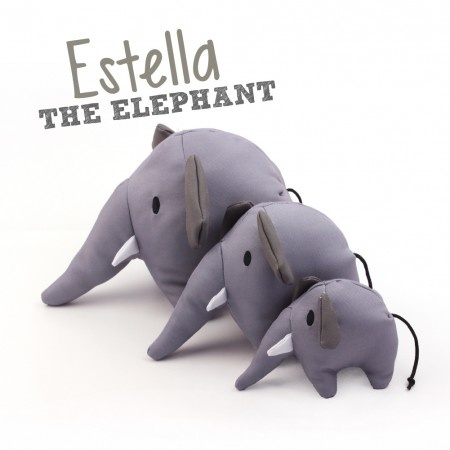 Beco Pets Beco Family Estella The Elephant Soft Toy