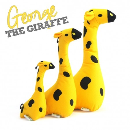 Beco Pets Beco Family George The Giraffe Soft Toy