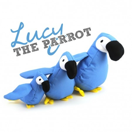 Beco Pets Beco Family Lucy The Parrot Soft Toy