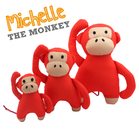 Beco Pets Beco Family Michelle The Monkey Soft Toy