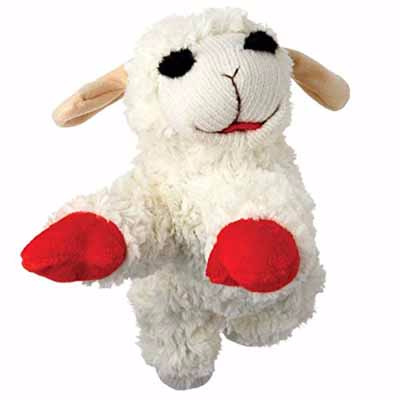 The Lamb! The Legend! Lamb Chop Standing Up Dog Toy