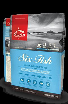Orijen Orijen Six Fish Cat 1.8 kg