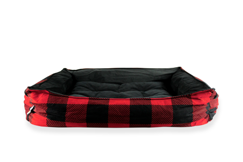 Be One Breed Be One Breed Cozy Bed Plaid