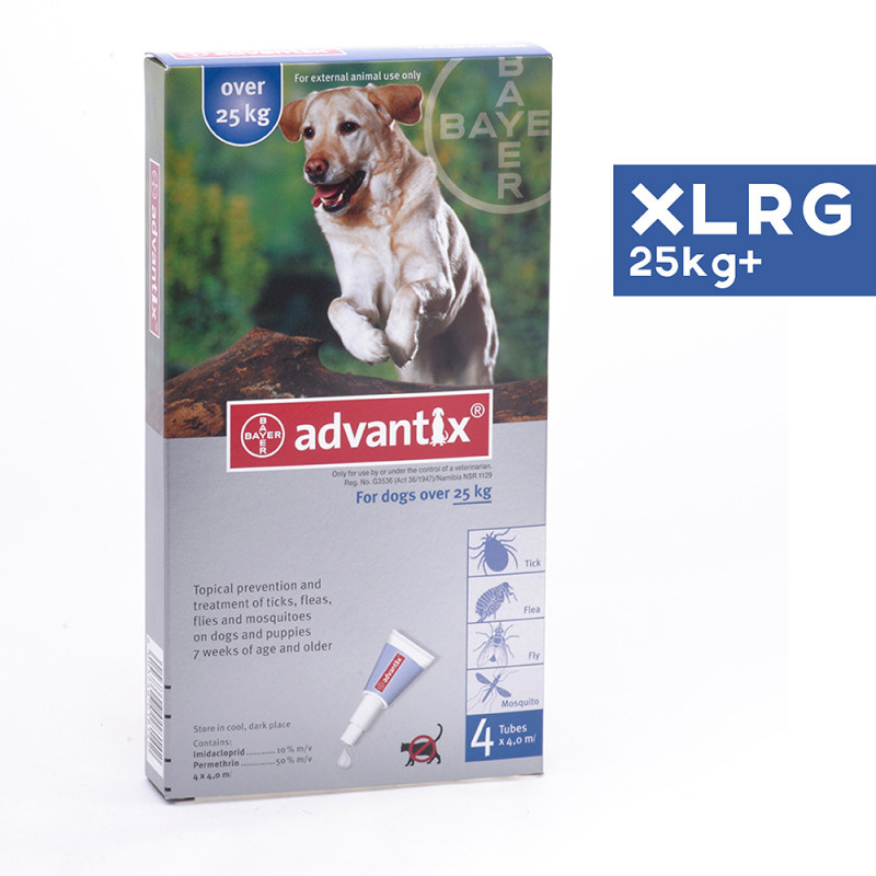 Bayer Bayer Advantix II For Extra Large Dog Over 25kg