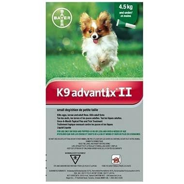 Bayer Bayer Advantix II Small Dog 4.5kg and Under