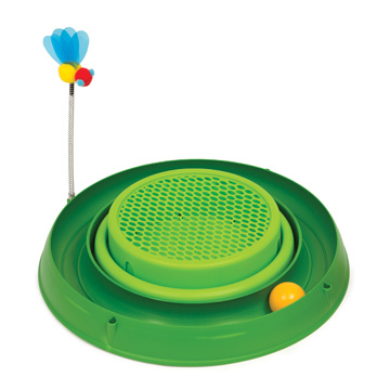 CatIt Cati It Play Circuit Ball Toy With Cat Grass