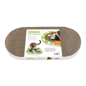 Cat It Catit Senses 2.0 Oval Circuit Scratcher