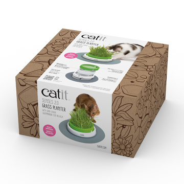 Cat It Cat It Senses 2.0 Grass Planter